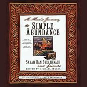 A Man's Journey to Simple Abundance by  others audiobook