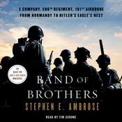 Band of Brothers by  Stephen E. Ambrose audiobook
