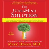 The UltraMind Solution by  Mark Hyman MD audiobook