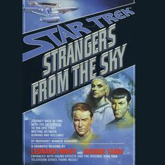 Strangers from the Sky by Margaret Wander Bonanno audiobook