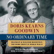 No Ordinary Time by  Doris Kearns Goodwin audiobook