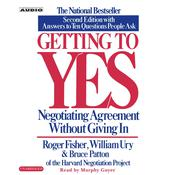 Getting to Yes by  William Ury audiobook