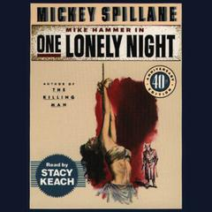 One Lonely Night by Mickey Spillane audiobook