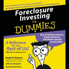 Foreclosure Investing For Dummies by Ralph R. Roberts audiobook