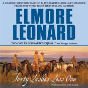 Forty Lashes Less One by  Elmore Leonard audiobook
