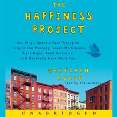 The Happiness Project by Gretchen Rubin audiobook