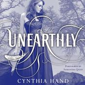 Unearthly by  Cynthia Hand audiobook