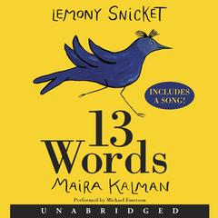 13 Words by Lemony Snicket audiobook