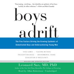 Boys Adrift by Leonard Sax audiobook