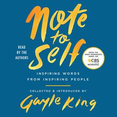 Note to Self by Connor Franta audiobook