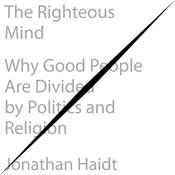 The Righteous Mind by  Jonathan Haidt audiobook