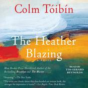 The Heather Blazing by  Colm Tóibín audiobook