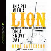 In a Pit With a Lion On a Snowy Day by  Mark Batterson audiobook
