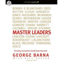 Master Leaders by George Barna audiobook