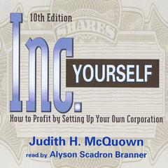 Inc. Yourself by Judith H. McQuown audiobook