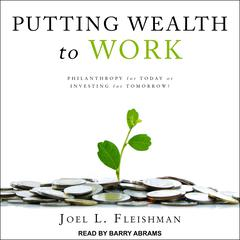 Putting Wealth to Work by Joel L. Fleishman audiobook