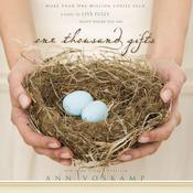One Thousand Gifts by  Ann Voskamp audiobook