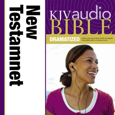 KJV, New Testament Dramatized Audio, Audio Download by Zondervan audiobook