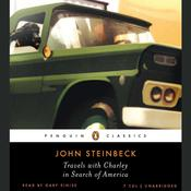 Travels with Charley in Search of America by  John Steinbeck audiobook