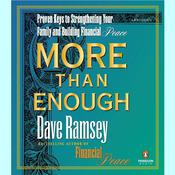 More than Enough by  Dave Ramsey audiobook