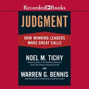 Judgment by  Warren G. Bennis audiobook