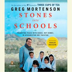 Stones into Schools by Greg Mortenson audiobook