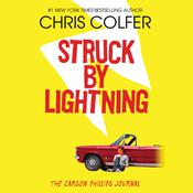 Struck By Lightning by  Chris Colfer audiobook