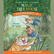 Magic Tree House Books 17-24 by  Mary Pope Osborne audiobook