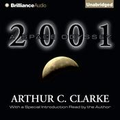 2001 by  Arthur C. Clarke audiobook