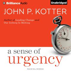 A Sense of Urgency by John P. Kotter audiobook