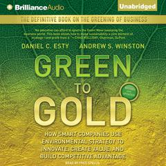 Green to Gold by Daniel C. Esty audiobook