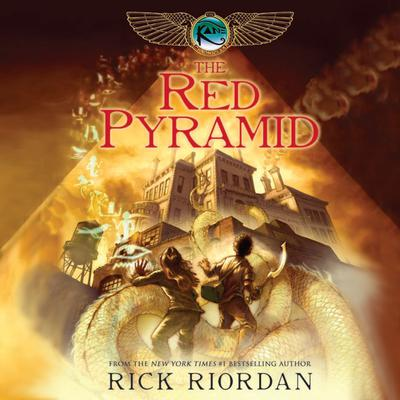 The Red Pyramid by Rick Riordan audiobook