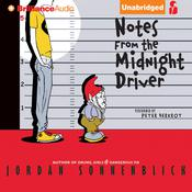 Notes from the Midnight Driver by  Jordan Sonnenblick audiobook