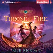 The Throne of Fire by  Rick Riordan audiobook