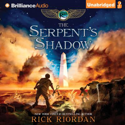 The Serpent's Shadow by Rick Riordan audiobook
