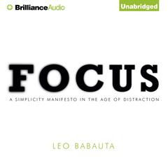 Focus by Leo Babauta audiobook