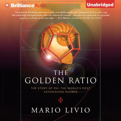 The Golden Ratio by Mario Livio audiobook