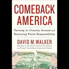 Comeback America by David M. Walker audiobook