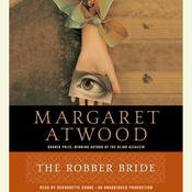 The Robber Bride by  Margaret Atwood audiobook