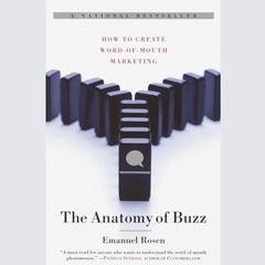 The Anatomy of Buzz by Emanuel Rosen audiobook