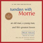 Tuesdays with Morrie by  Mitch Albom audiobook