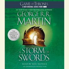 A Storm of Swords by George R. R. Martin audiobook