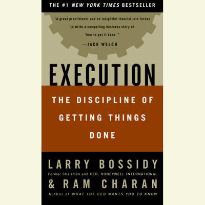 Execution by Larry Bossidy audiobook
