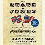 The State of Jones by  Sally Jenkins audiobook