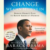 Change We Can Believe In by  Barack Obama audiobook