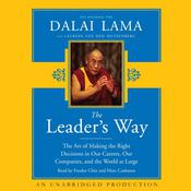The Leader's Way by  His Holiness the Dalai Lama audiobook