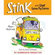 Stink and the Great Guinea Pig Express (Book #4) by  Megan McDonald audiobook