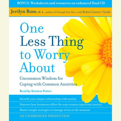 One Less Thing to Worry About by Jerilyn Ross audiobook