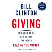 Giving by  Bill Clinton audiobook