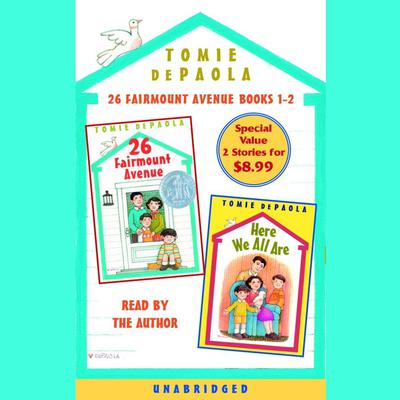 26 Fairmount Avenue: Books 1 and 2 by Tomie dePaola audiobook